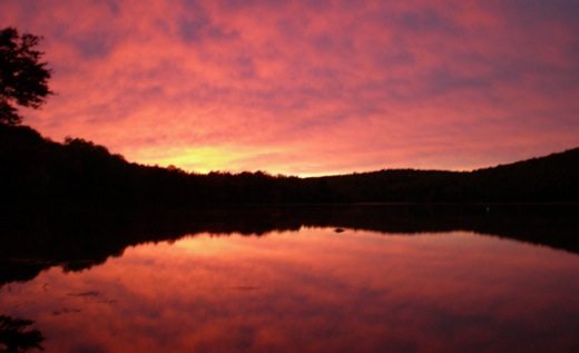 Sebec Lake Maine Sunrise 2