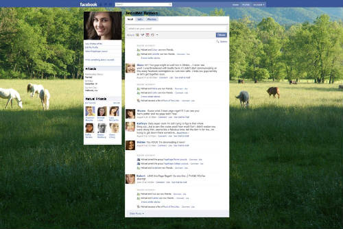 Smoky Mountains Facebook Layout