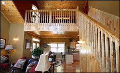 Above It All Log Cabin Rental
