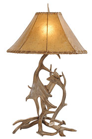 Deer Antler Table Lamp