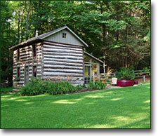 Virginia cabin rental for Montebello cabin rentals